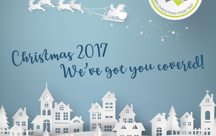 Troy Christmas Card Brochure